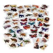 US Toy Company Mylar Sticker Asst/1152-Pc (2 Packs Of 1)