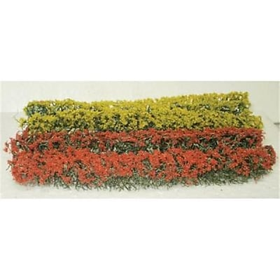 Simi Creative Products Architectural Model Red and Yellow Flowering Hedges (AlV26352) 2628875
