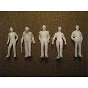Simi Creative Products Architectural Model Human Figures Male .25 in. 5-Pack (AlV26342)