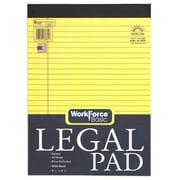 Norcom Inc 8.5 in. x 11.75 in. Canary legal Pad 50 Pages (JNSN70079)