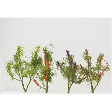 Simi Creative Products Architectural Model Flower Trees Multicolor 8-Pack (AlV26355)