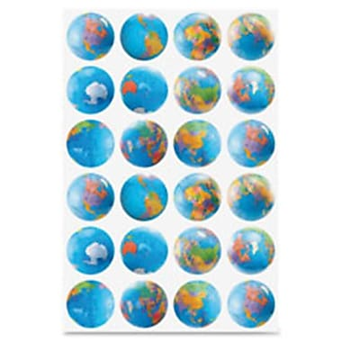 Hygloss Products Globes Stickers (SPRCH49212)