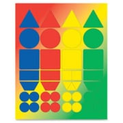 Hygloss Products Basic Shapes Stickers (SPRCH49210)