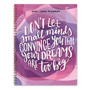 """July 2019 - June 2020 TF Publishing 9"""" x 11"""" Large Daily Weekly Monthly Planner, Dream Big (20-9583a)"""
