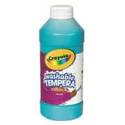 Crayola. Artista II Washable Tempera Paint, Turquoise, 16 oz (AZERTY18422)
