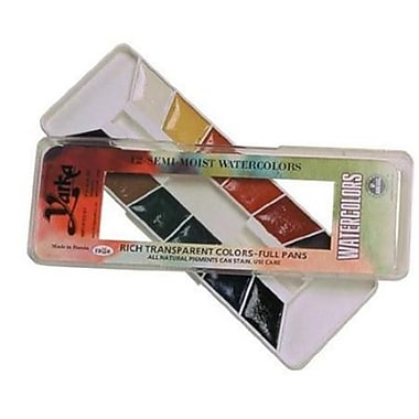 Richeson 12-Color Watercolor Paint Set (AlV29897)