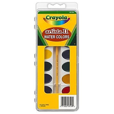 Crayola llc Formerly Binney and Smith Artista Ii Watercolor Set 16 Semi (EDRE36175)