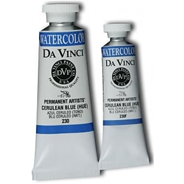 Da Vinci 15ml Watercolor Paint - Cerulean Blue Hue (AlV13731)