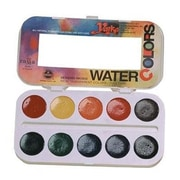 Richeson 10-Color Watercolor Paint Set (AlV29223)