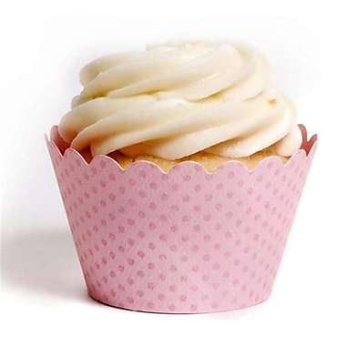 Dress My Cupcake Solid Cupcake Wrappers, Emma Baby Pink, Pack of 48 (DMCC007)