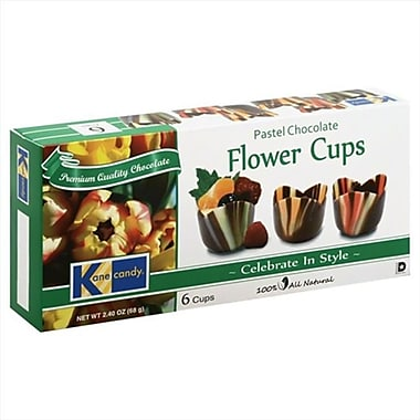 KANE CANDY CANDY CHOC FlOWER CUP-2.47 OZ -Pack of 12 (KEHE26691)