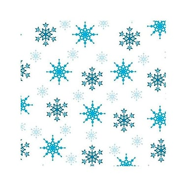 Make N Mold Snowflake Foil Wraps, Pack of 12 (MKNM084)