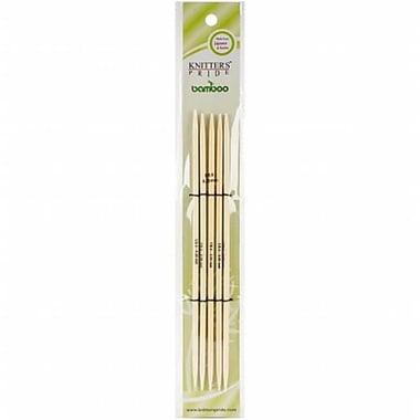 Bamboo Double Pointed Needles 8 in., Size 1.5 mm. (NMG112568)