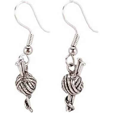Cedar Creek Quilt Designs 85364 Charming Accents French Wire Earrings-Knitting Needles (NMG57531)