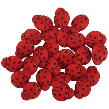 Jesse James 438211 Dress It Up Embellishments-Tiny ladybugs (NMG52359)