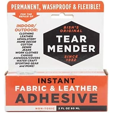 Tear Mender 86973 Tear Mender Instant Fabric and leather Adhesive-2 Ounces (NMG74125)