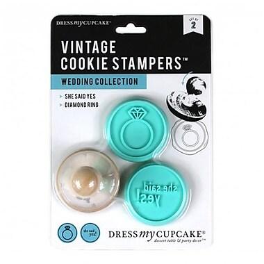 Dress My Cupcake Vintage Cookie Stampers, Wedding Collection (DMCC435)