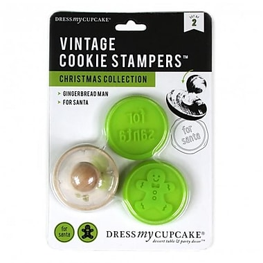 Dress My Cupcake Vintage Cookie Stampers, Christmas Collection (DMCC434)