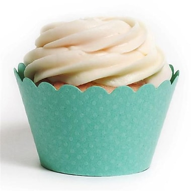 Dress My Cupcake Solid Cupcake Wrappers, Emma Tiffany, Pack of 48 (DMCC024)