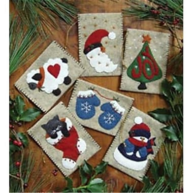 Rachels Of Greenfield 421977 Gift Bag Ornaments Kit-3 in. x 4 in. Set Of Six (NMG61635)