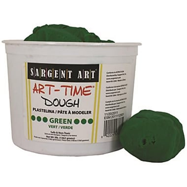 3lb Art Time Dough - Green (RTl146777)
