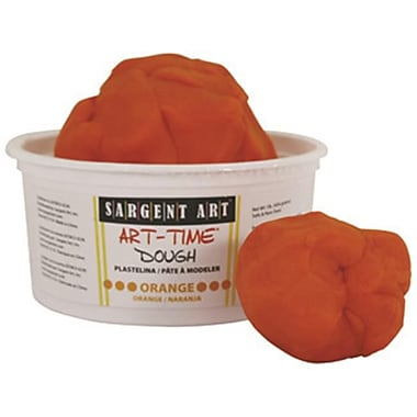 1lb Art Time Dough - Orange (RTl146767)