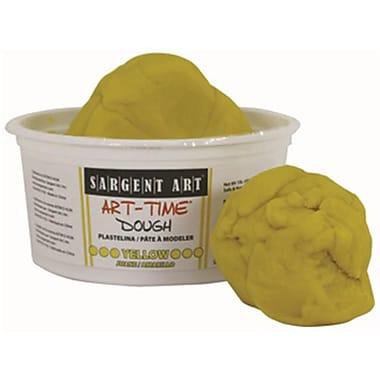 1lb Art Time Dough - Yellow (RTl146766)