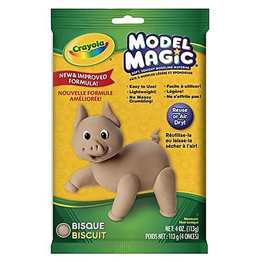 CRAYOlA llC FORMERlY BINNEY and SMITH CRAYOlA MODEl MAGIC MODElING COMPOUND-BISQUE (lEARN0287)