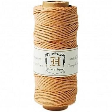 Hemptique Hemp Cord Spool 20No. 205 ft. -Pkg-Gold (NMG87986)
