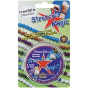 Pepperell Braiding Stretch Magic Bead and Jewelry Cord 1.5mm 4 Meters/Pkg (NMG8930)
