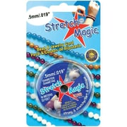 Pepperell Braiding Stretch Magic Bead and Jewelry Cord .5mm 10 Meters/Pkg (NMG8921)