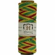 Hemptique Hemp Variegated Cord Spool 10lb 205'/Pkg-Rasta (NTMKGP31826)