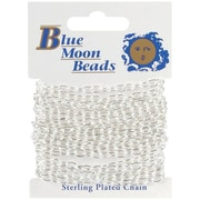 "Blue Moon Blue Moon Medium Wide Cable Chain 100"" 1/Pkg (NMG1697)"