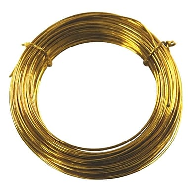 Impex Systems Group Inc - Ook 50ft. 20 Gauge Brass Hobby Wire (JNSN7764)