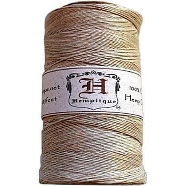 Hemptique Hemp Cord Spool 10 No. 205 Feet-Pkg-Natural (NTMKGP5281)