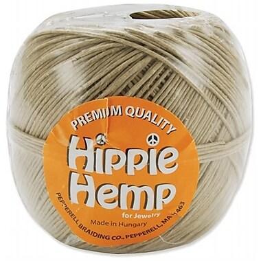 Pepperell Braiding Premium Quality Hippie Hemp Cord 20# 380 Feet/Pkg (NMG8877)