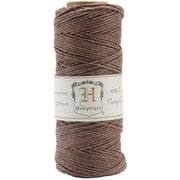 Hemptique Hemp Cord Spool 20 No. 205 Feet-Pkg-Dark Brown (NTMKGP7114)
