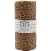 Hemptique Hemp Cord Spool 20 No. 205 Feet-Pkg-light Brown (NTMKGP7115)