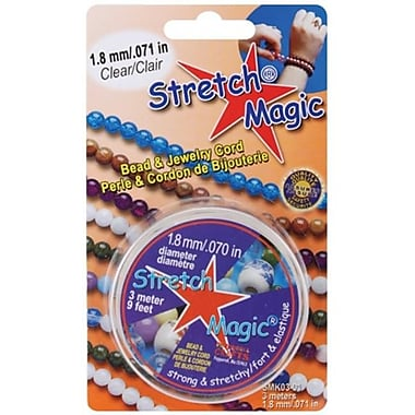 Pepperell Braiding Stretch Magic Bead and Jewelry Cord 1.8mm 3 Meters/Pkg (NMG8931)