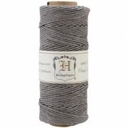 Hemptique Hemp Cord Spool 20lb 205'/Pkg-Gray (NTMKGP31854)