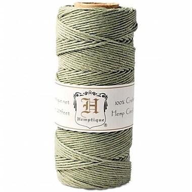 Hemptique Hemp Cord Spool 20lb 205'/Pkg-Dusty Olive (NTMKGP31852)