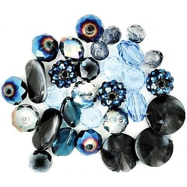 Jesse James 489420 Design Elements Beads 40 Grams-A Royal Affair (NMG52268)