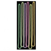 Beistle Company Glow In The Dark Party Beads - Assorted Colors (BSTl02503)