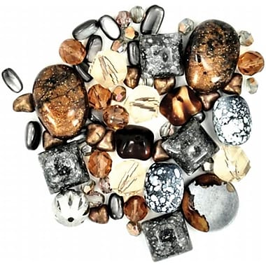 Jesse James 489419 Design Elements Beads 40 Grams-Truffles (NMG52267)