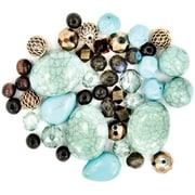 Jesse James 489415 Design Elements Beads 40 Grams-Desert Springs (NMG52263)