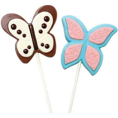 Make N Mold Butterfly Pop Candy Mold- pack of 6 (MKNM222)