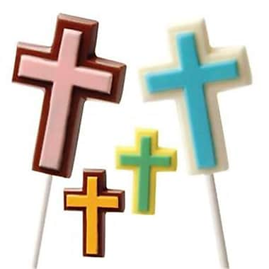 Make N Mold Cross Mix Religious Chocolate Mold- pack of 6 (MKNM209)