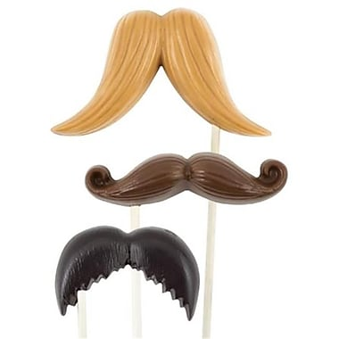 Make N Mold Mustache Pop Candy Molds- pack of 6 (MKNM224)