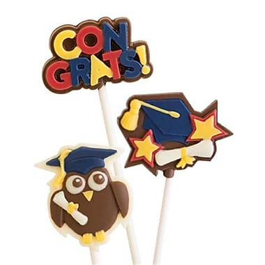 Make N Mold Graduation Owls- pack of 6 (MKNM247)