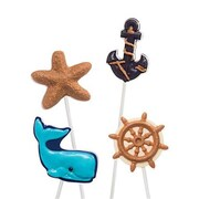 Make N Mold Nautical Pops Mold- pack of 6 (MKNM232)
